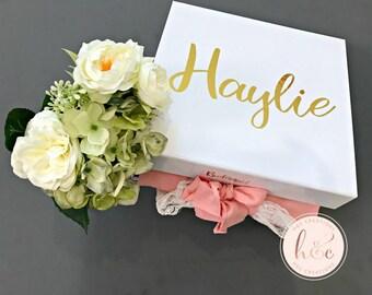 Bridesmaid Gift Box, Will You Be My Bridesmaid, Bridesmaid Boxes ,Personalized Gift Box ,Personalized Bridesmaid Box