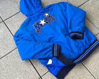 90s Vintage  ORLANDO MAGIC Jacket by Champion NBA Basketball Big Logo Hip Hop