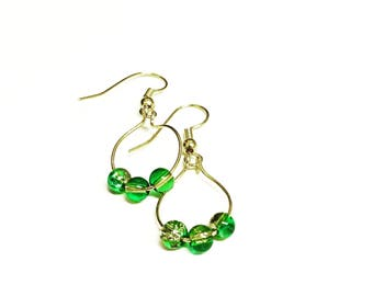 Mini Hooped Earrings