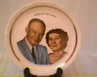 The President and Mrs. Eisenhower Plate