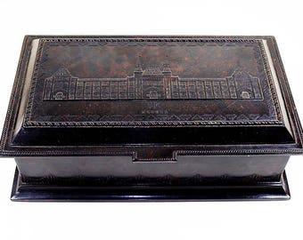 Antique Russian Bakelite Box