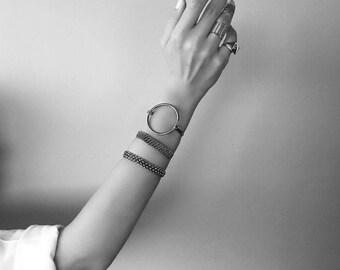 Silver Bold Bracelets