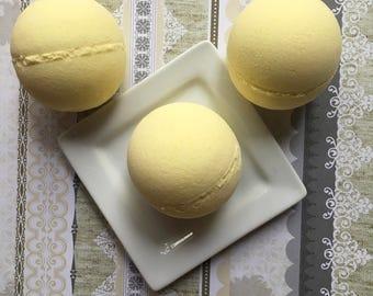 Lemon Cake Bath Bomb