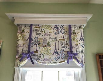 Custom Made Window Valance