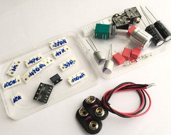 Kit for Pocket Class A Headphone Amp Components