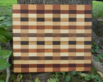 SALE! Checkered Cutting Board (Medium)