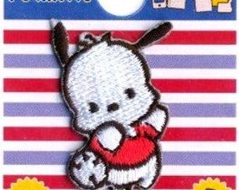 POCHACCO character emblem  Patch applique handicraft Sewing Supplies sanrio from Japan kawaii