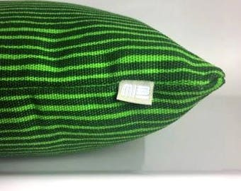 green lines pillow > fabric from Marimekko in Helsinki/Finland
