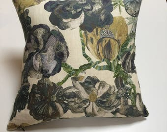 cushion cover in Liberty floral design - inner not included
