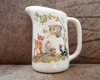 Disneyland Bambi Pitcher from 1955