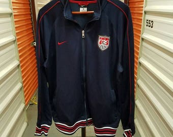 National Team USA Soccer Jacket By Nike. Men's Size XL.