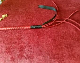 Stinging Nettle - Leather BDSM Whip