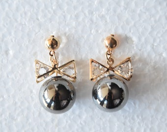 Vintage Earrings Pearl Earrings