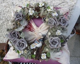 Handmade wall wreath / wreath