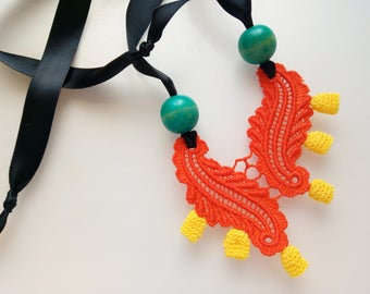 Chilli Orange Necklace