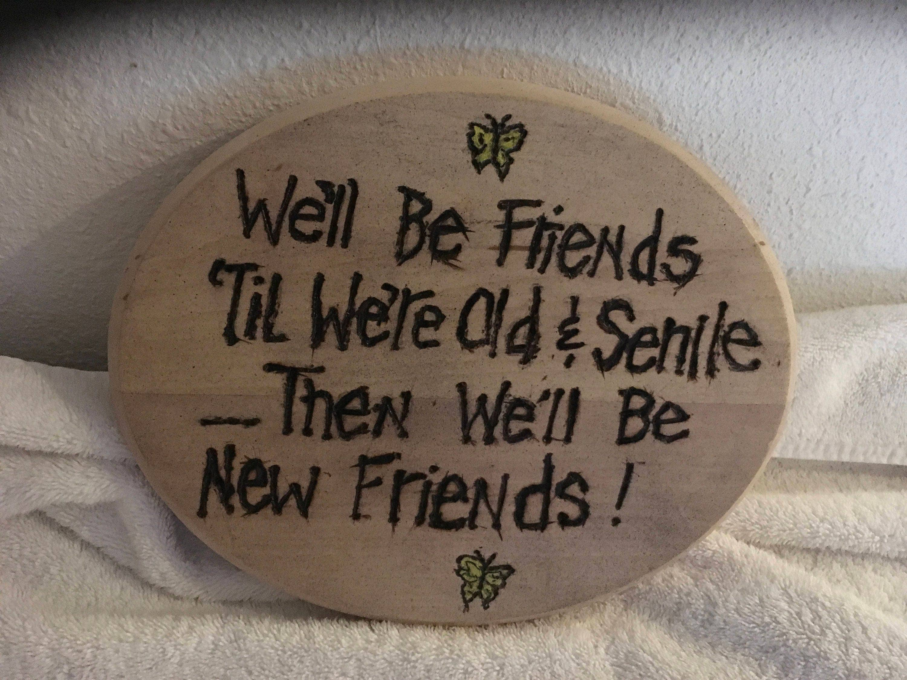 Gift Ideas For Your Best Friend Source BFF 50th Birthday Plaque Customize Order S