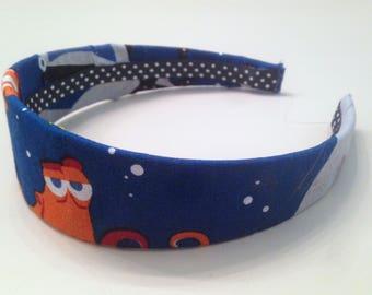 Finding Dory Headband, Hank Headband, Disney Headband