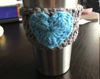 Cozy Heart Coffee Sleeve