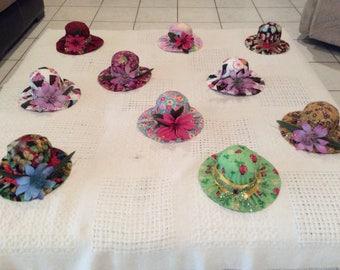 Hat Pin cushions, Sewing room, Home, Handmade