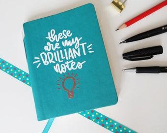 Handmade notebook Brilliant Notes (incl. pen)