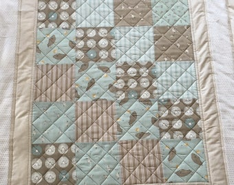Baby Quilt, Crib Quilt, Play Quilt