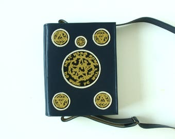 Magic Spell Book Bag Book of Shadows Leather Purse