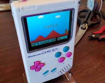 CUSTOM BUILT Gameboy Zero with Raspberry Pi