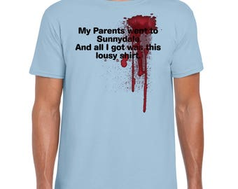 My Parents Went to Sunnydale - T-Shirt Horror Buffy Tee | Spike | Angel | Demons | Halloween | Terrifying Tees