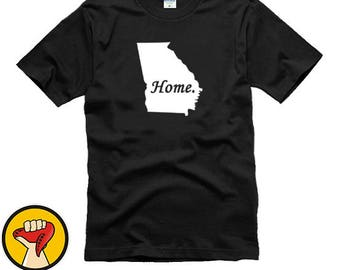 Georgia Home State Tee Shirt T-Shirt More Colors XS - 2XL