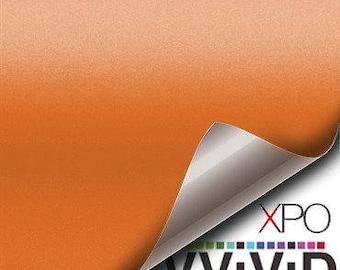 VViViD Orange Matte Vinyl Decal