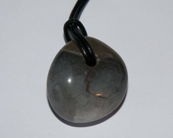 Rosie's Stoneage New Forest Pebble Pendant Necklace #4287