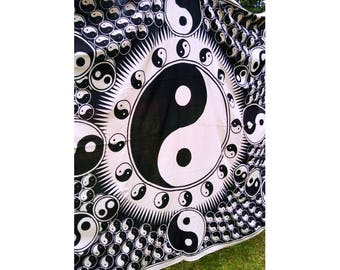 Yin and Yang Tapestry