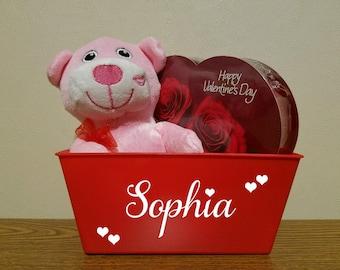 Valentine's Day Basket for Girl or Boy