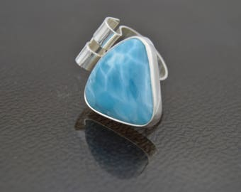 Ring... GIRL... with Larimar gem... Jewel by Massimo Di Basilio.