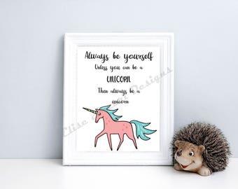 Unicorn Nursery Display