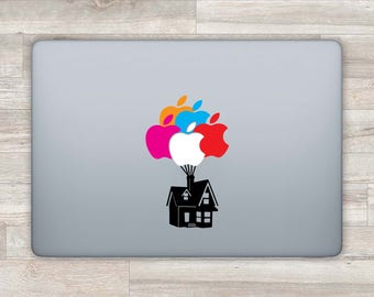 Up MacBook Decal Disney MacBook Sticker Pixar Laptop Decal Laptop Sticker MacBook Pro 2016 13 Inch MacBook Retina MacBook Air Balloon bn564