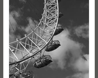 London Eye - Framed Photograph