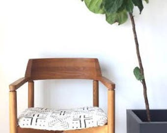 Vintage Gunlocke Mudcloth Chair (Mid-Century Modern)