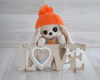 Teddy Bunny Orange / Зайка тедди Апельсинка
