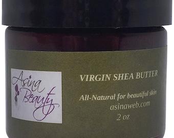 2 oz Handcrafted Virgin Shea Butter or Unrefined Shea Butter