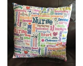 Descriptive Nurse Pillow