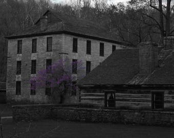 The Dark Spring Mill - Photography of Indiana