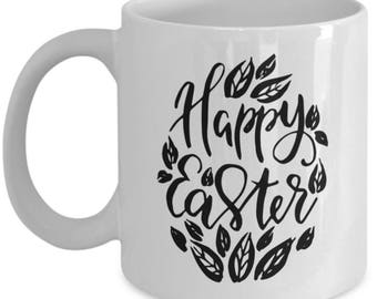 Happy Easter, Easter mug, Easter coffee mugs, easter gifts, easter gifts for women, easter gift ideas
