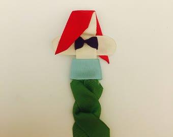 Ariel Ribbon Sculpture Hair Clip
