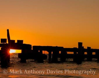 Sunset, Jurien Bay, Old Jetty