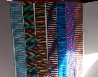 Multicolored Knit Scarves