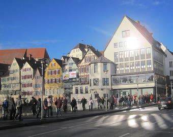 Eberle-Brücke, Tübingen - Signiert Photo 1-5th copie