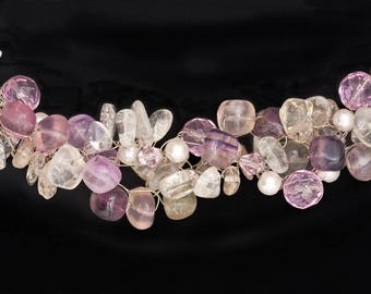 Gemstone Chip Necklace