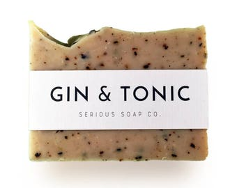 Gin and Tonic Soap - 100% all natural soap