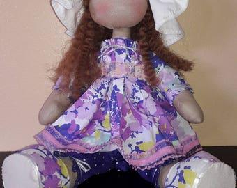 Siera handmade doll.